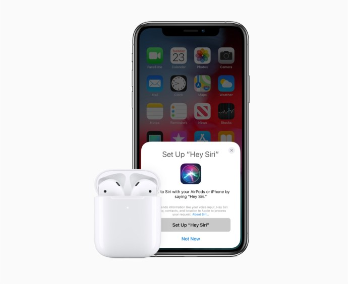 Apple Airpods 2 Hey Siri