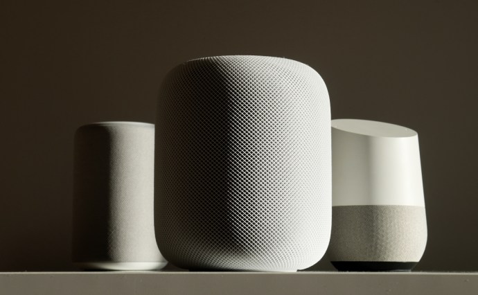 Apple Homepod Amazon Echo Google Home Speaker Header