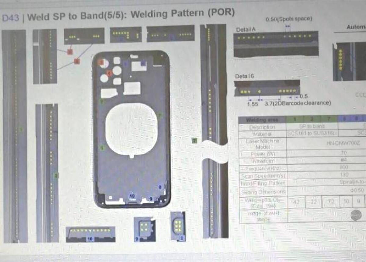 Apple Iphone 11 Leak Fabrik