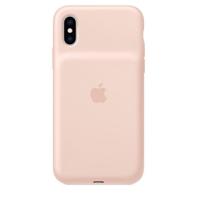 Apple Iphone Xs Smat Battery Case Sandrose