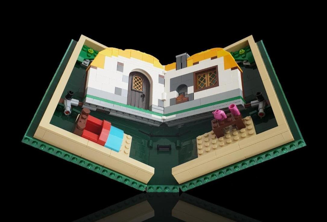 Lego Fold Tweet