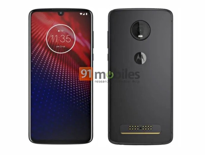 Motorola Moto Z4 Leak