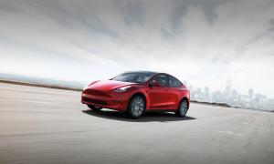 Tesla Model Y Header