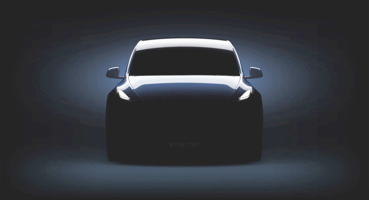 Tesla Model Y Nice Try