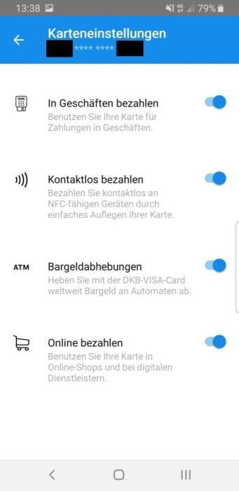 Dkb Visa Card Control 2