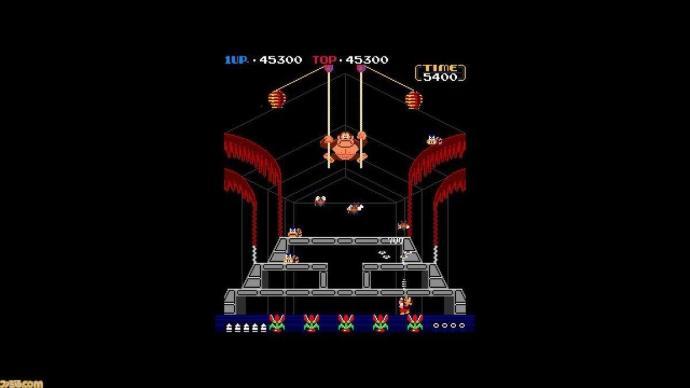 Donkey Kong 3 Nintendo Switch Screen