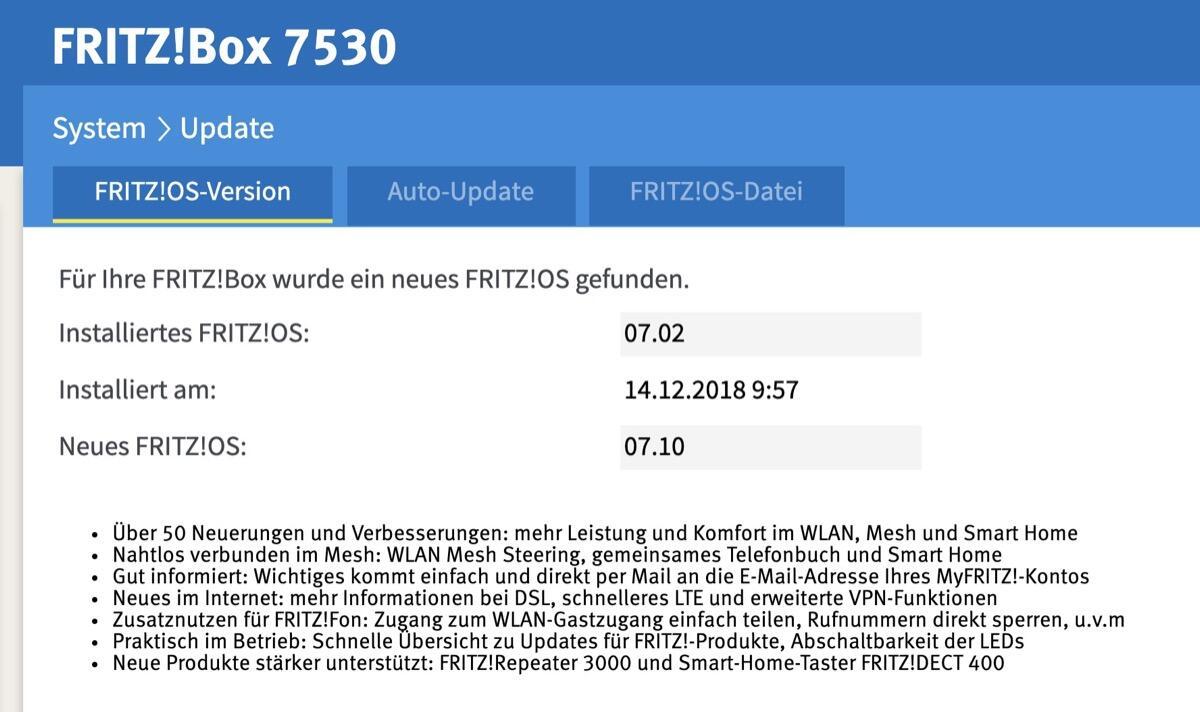 Fritzos 7530 7.1