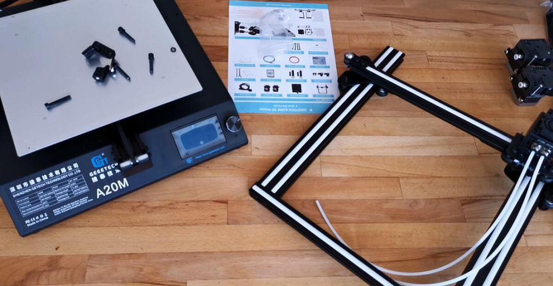 Geeetech A20m Dualcolor 3d Drucker