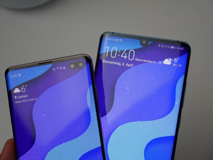 Huawei P30 Pro Samsung Galaxy S10 Vgl4