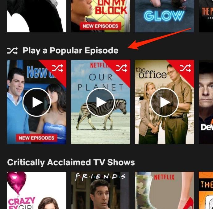 Netflix Folge Zufall