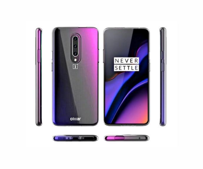 Oneplus 7 Pro Case Leak Purple