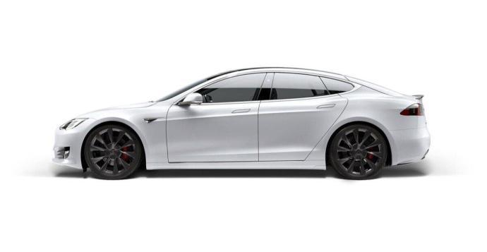 Tesla Model S Weiss Header