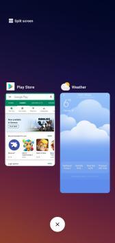 Xiaomi Mi Play Multitasking