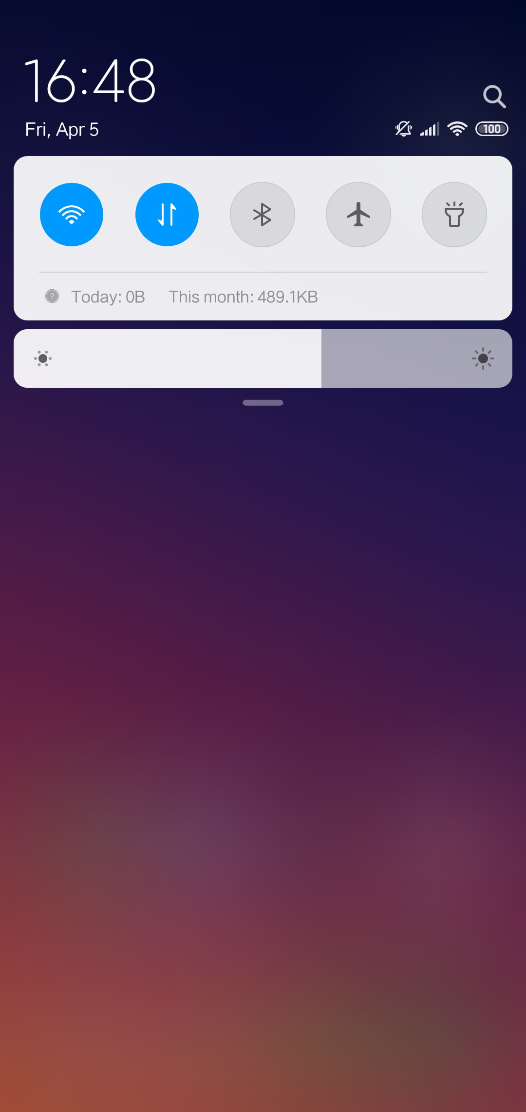 Xiaomi Mi Play Notifications