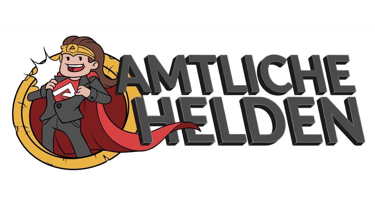 Amtliche Helden Logo T