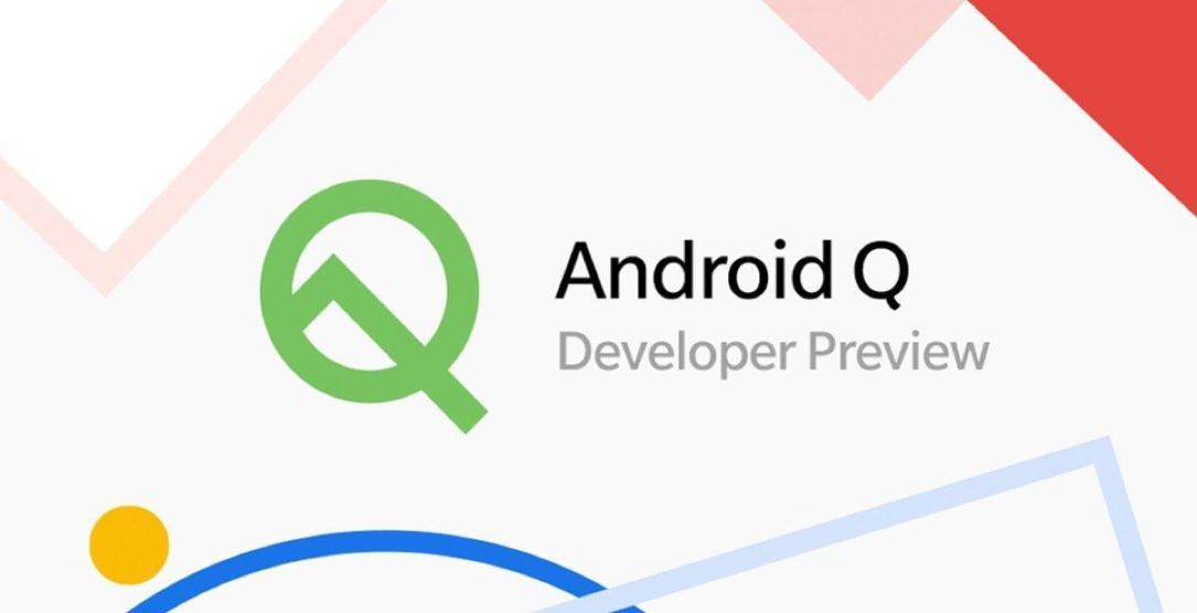 Android 10 Q Beta Developer Header
