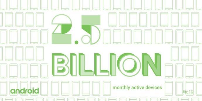 Android Milliarden Geraete