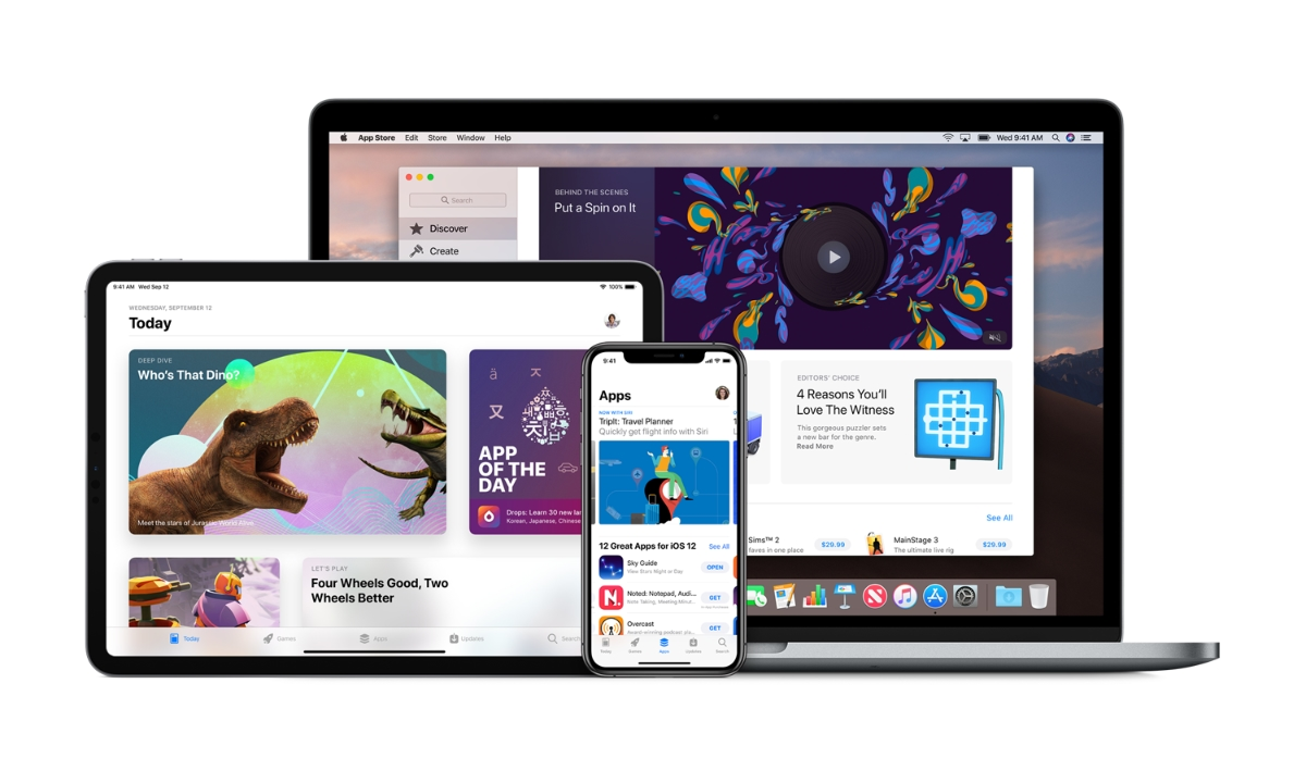 Apple App Store Header