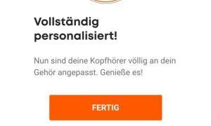 Beyerdynamic Miy App Personalisierung 2