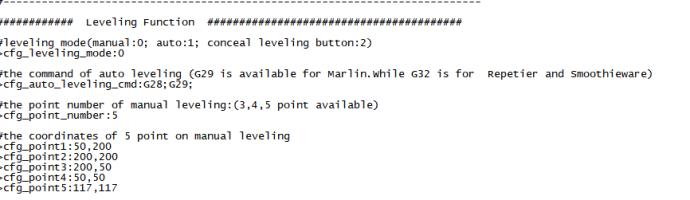 Config.txt Anpassung Leveling