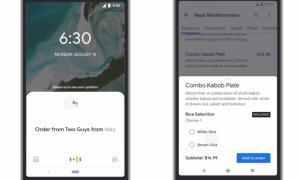 Google Lieferdienste Plattform