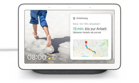 Google Nest Hub Header