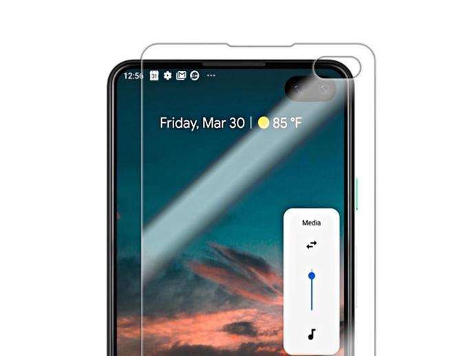 Google Pixel 4 Display Loch
