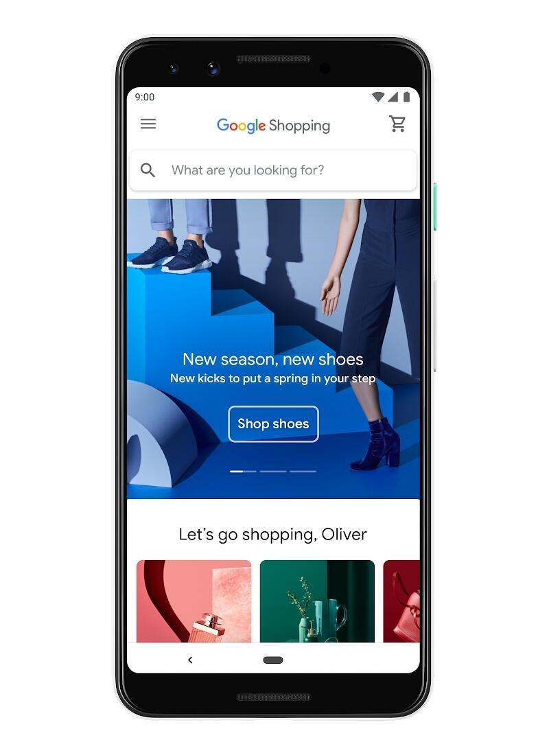 Google Shopping Neu