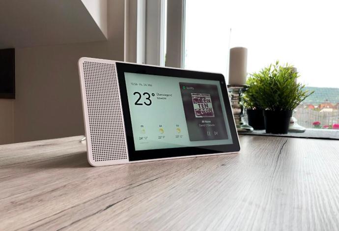 Lenovo Smart Display Header