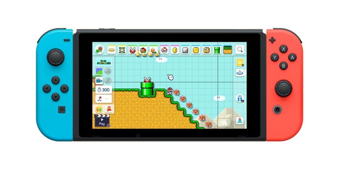 Nintendo Switch Super Mario Maker Header