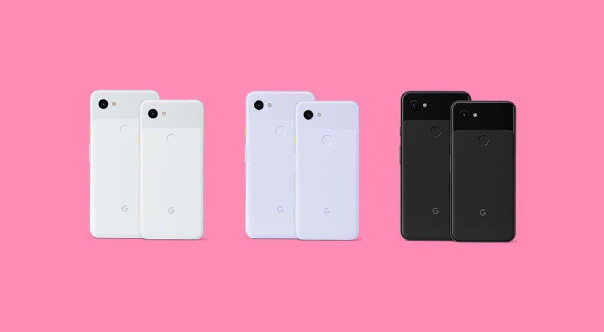 Pixel 3a And 3a Xl Colors