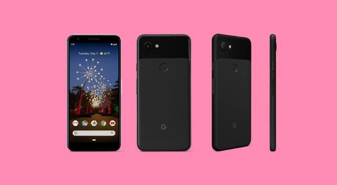 Pixel 3a Black 1