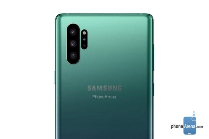 Samsung Galaxy Note 10 Mockup