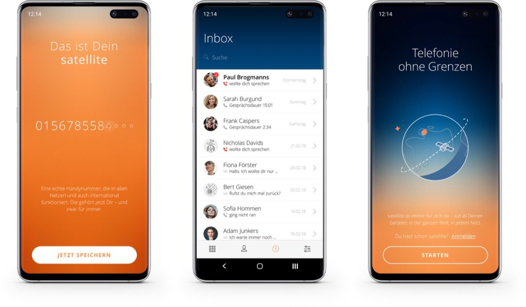 Satellite Android