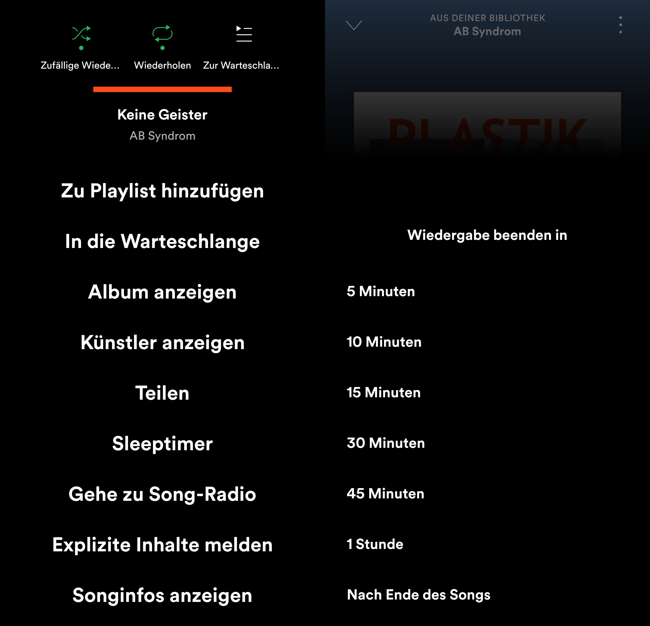Spotify Sleep Timer Android