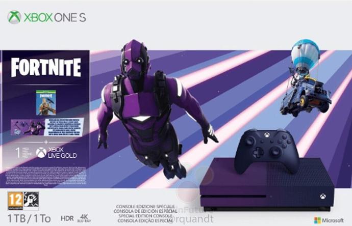 Xbox One S Fortnite Leak