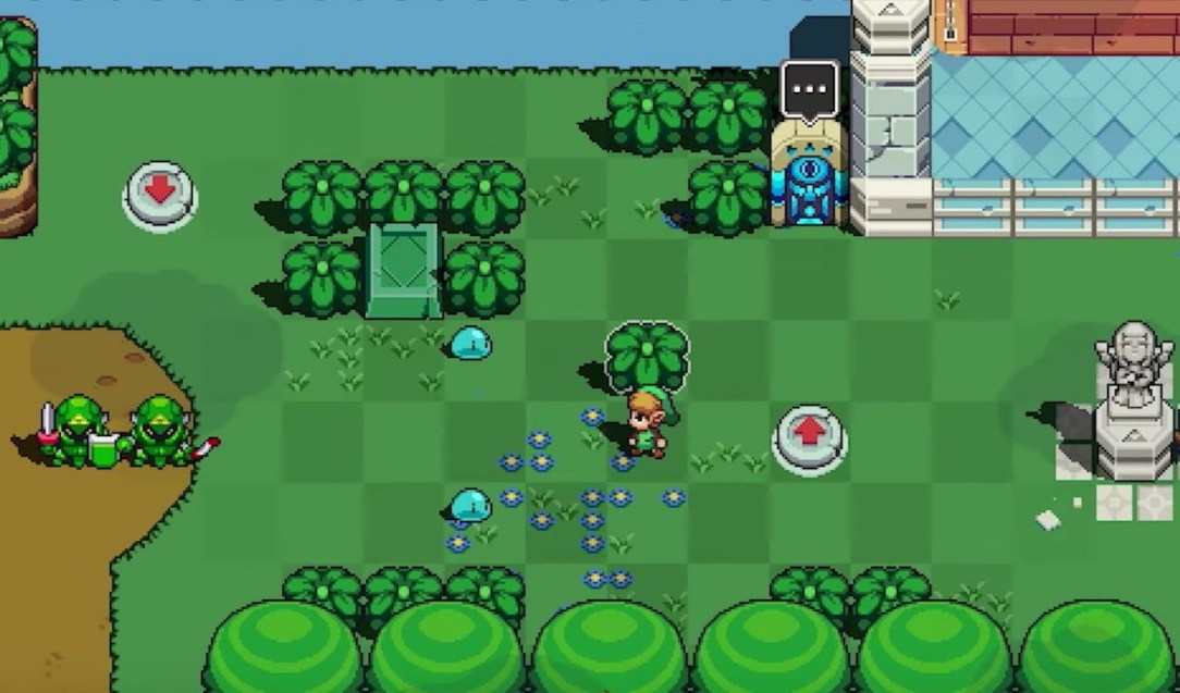 Zelda Hyrule Crossover Screenshot Gameplay