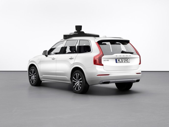 254703 Volvo Cars And Uber Present Production Vehicle Ready For Self Driving