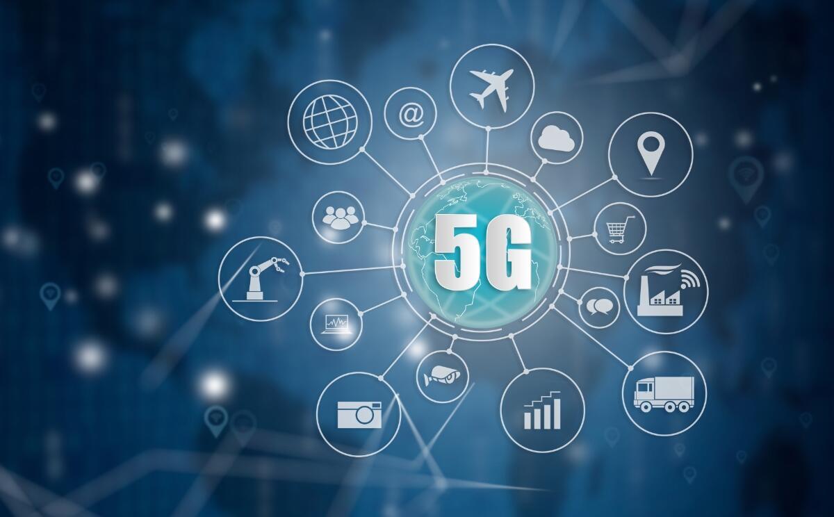 5g Netz Industrie Header