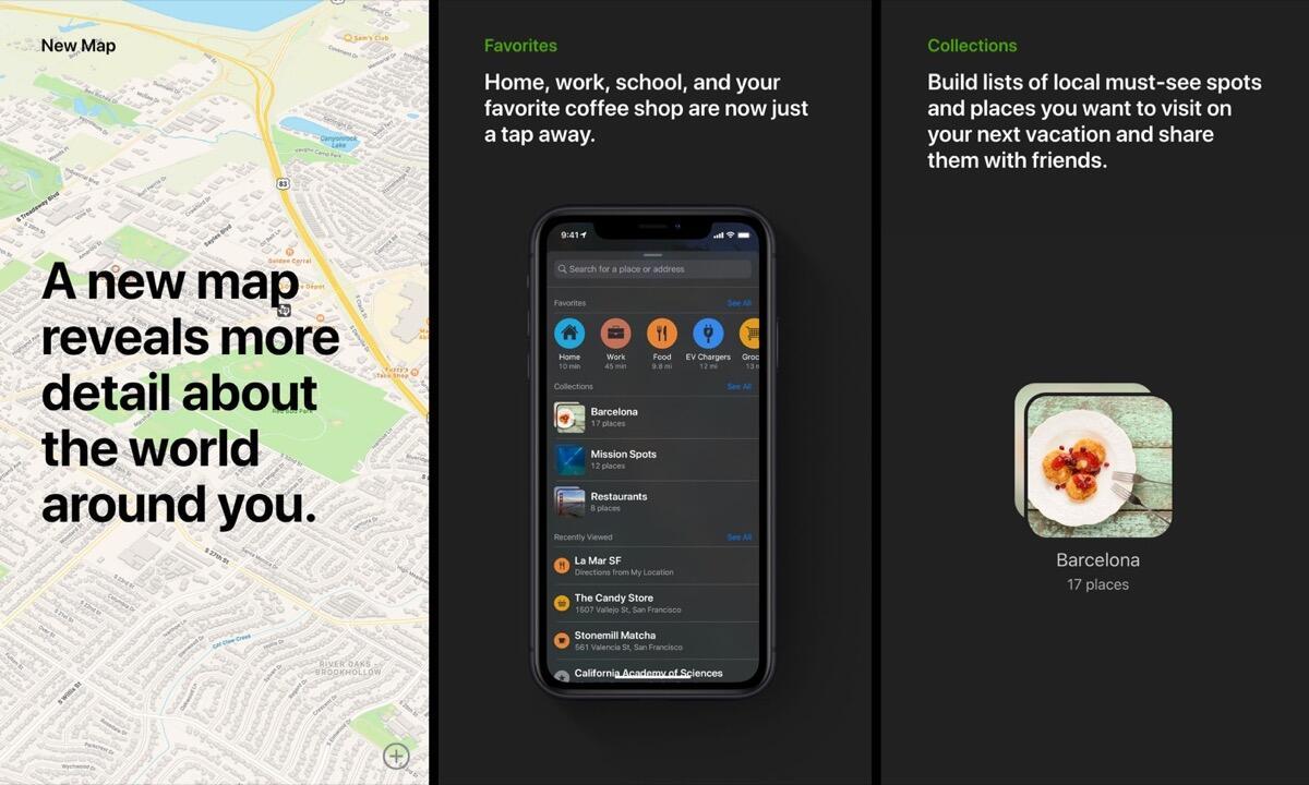 Apple Maps Neu