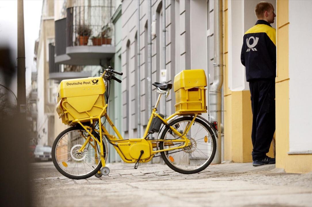 Modern Delivery Bike Berlin