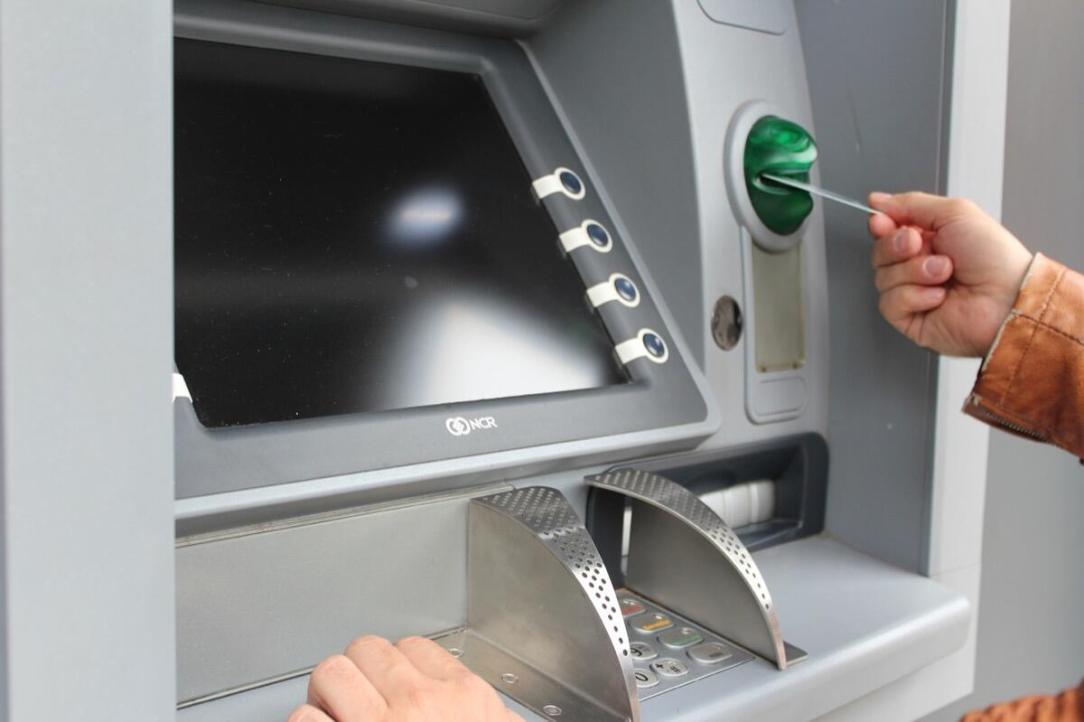Geldautomat Atm