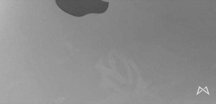 Macbook Pro Space Grey Aufkleber Fail