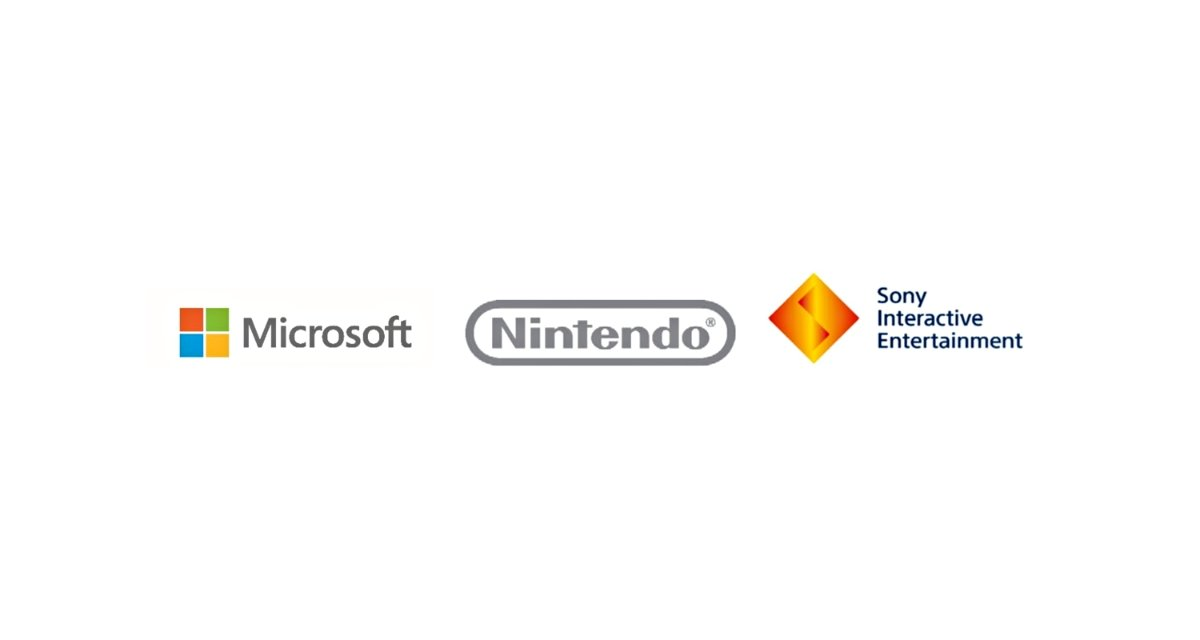 Microsoft Nintendo Sony