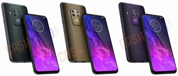 Motorola One Pro Leak Farben