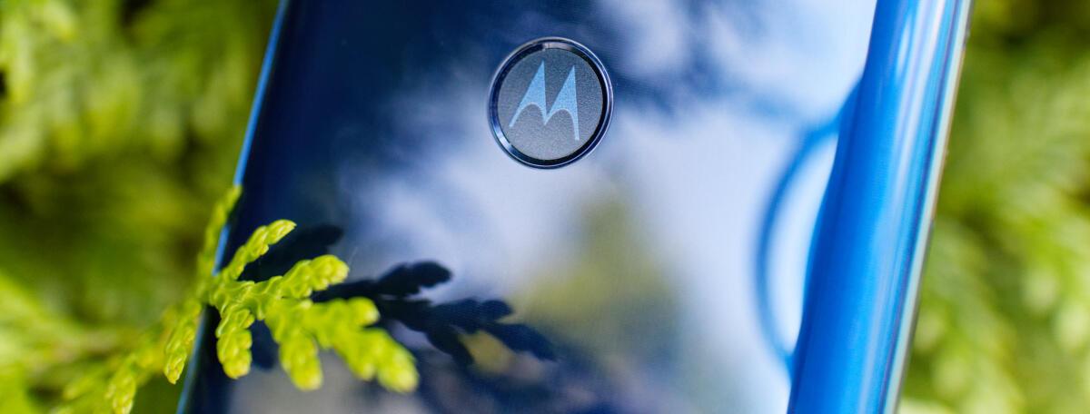 Motorola One Vision Fingerprint