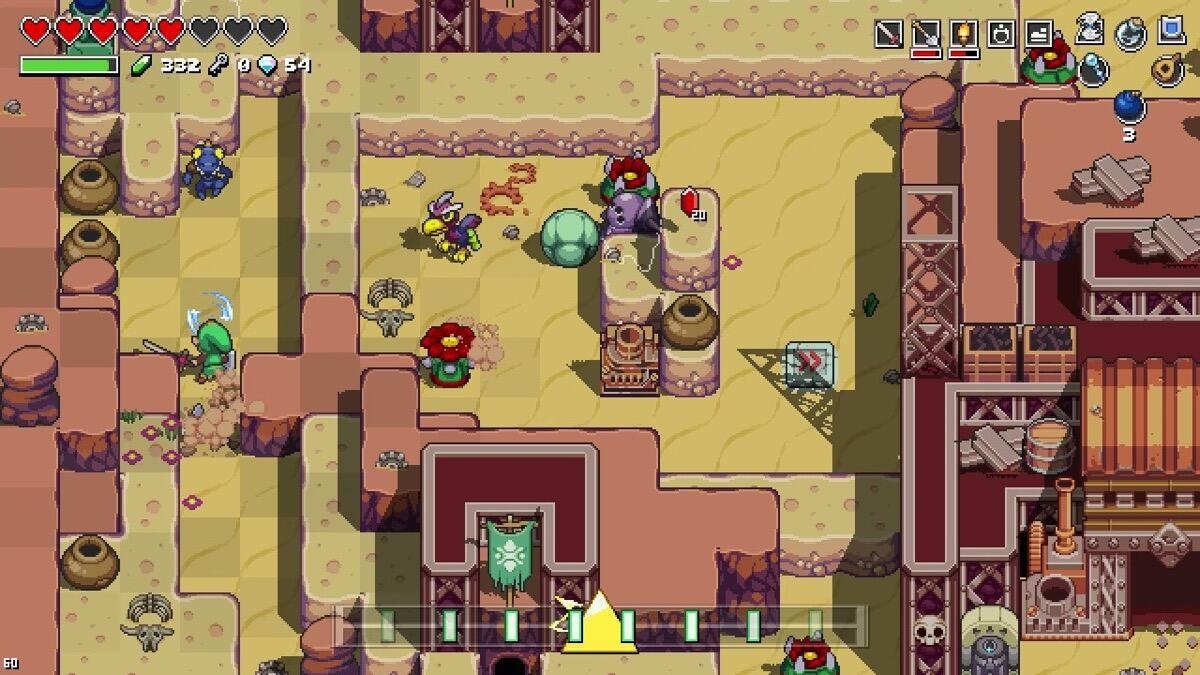 Nintendo Switch Zelda Crossover Screen5