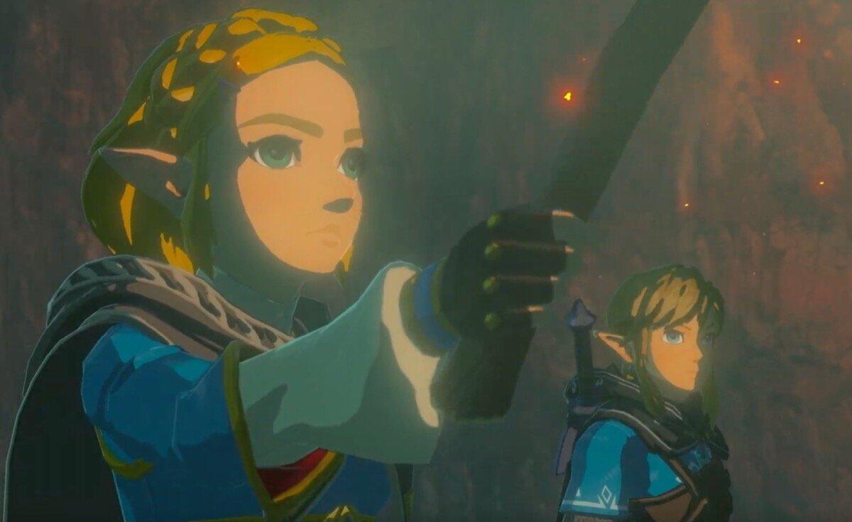 Nintendo Switch Zelda Neu