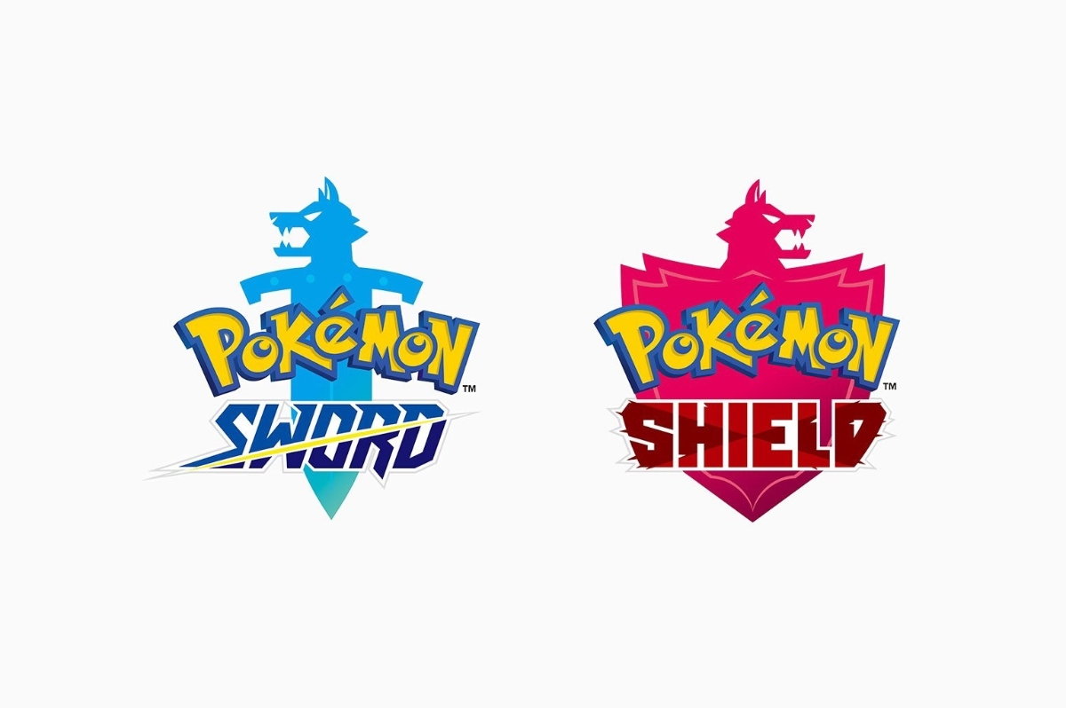 Pokemon Switch Sword Shield Logo