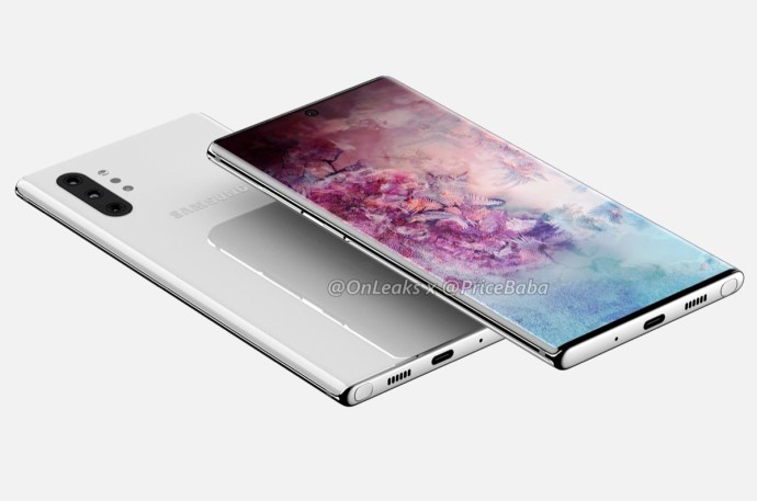 Samsung Galaxy Note 10 Pro Leak Header
